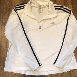 Adidas workout long sleeve sports ware